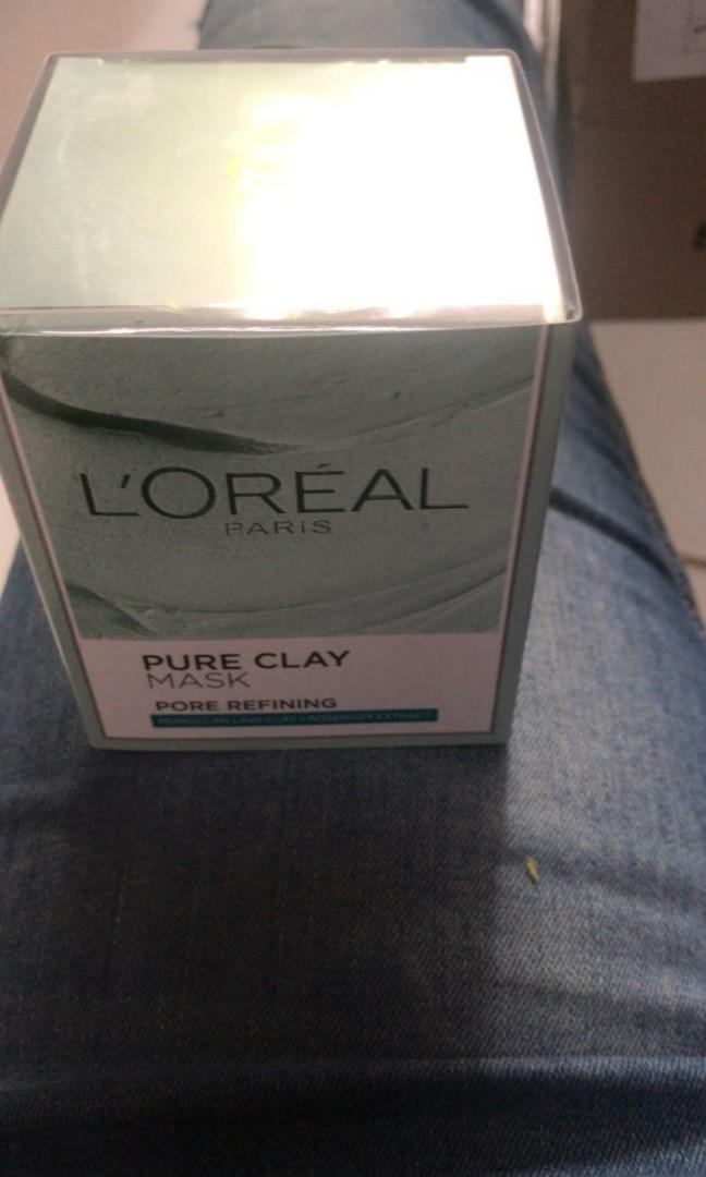 loreal pore refining clay mask