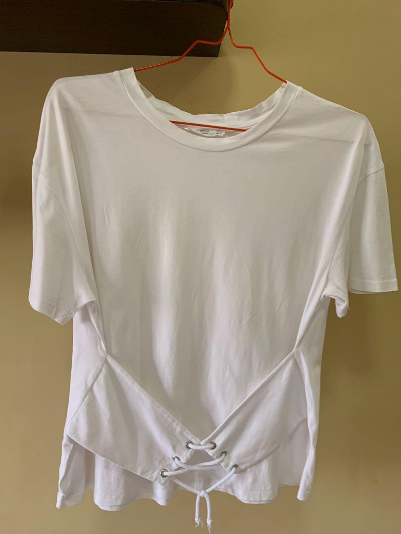 MANGO Korset Shirt