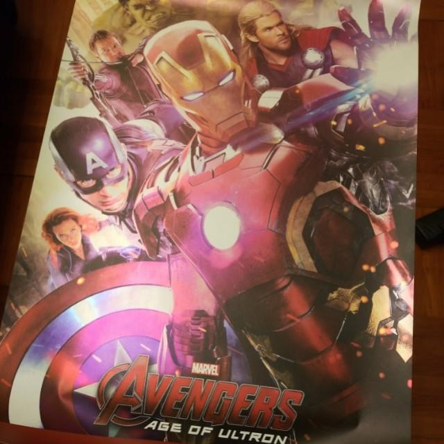 Marvel Avengers Age of Ultron Hot Toys poster