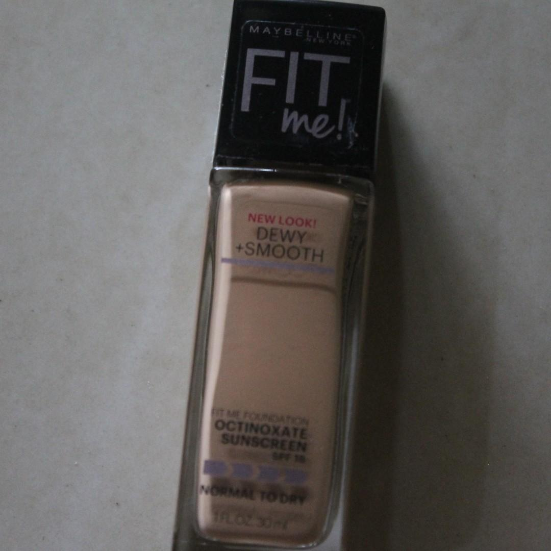 Maybelline Fit Me Dewy+Smooth for Normal to Dry