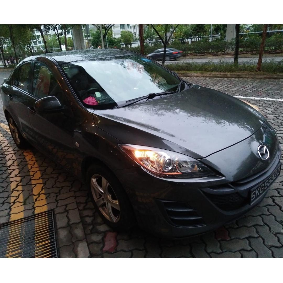 MAZDA 3 1.5L- WITH GOJEK RENTAL REBATE, CONTINENTAL FEEL, COMFORTABLE, PREMIUM, HANDSOME AND SPORTY LOOKING!