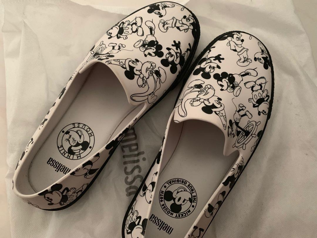 Melissa Mickey Mouse limited edition, Women's Fashion, Shoes
