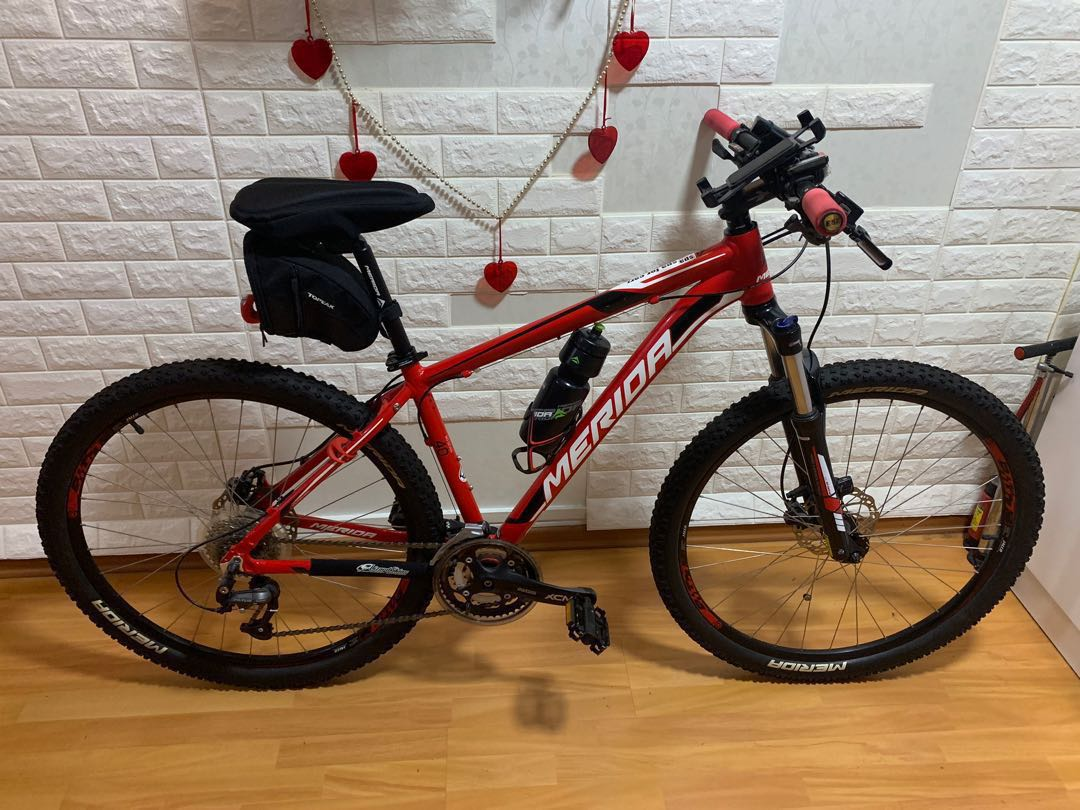 2116295adcc Merida mtb hardtail , front suspension used 5 times at pcn, Bicycles ...