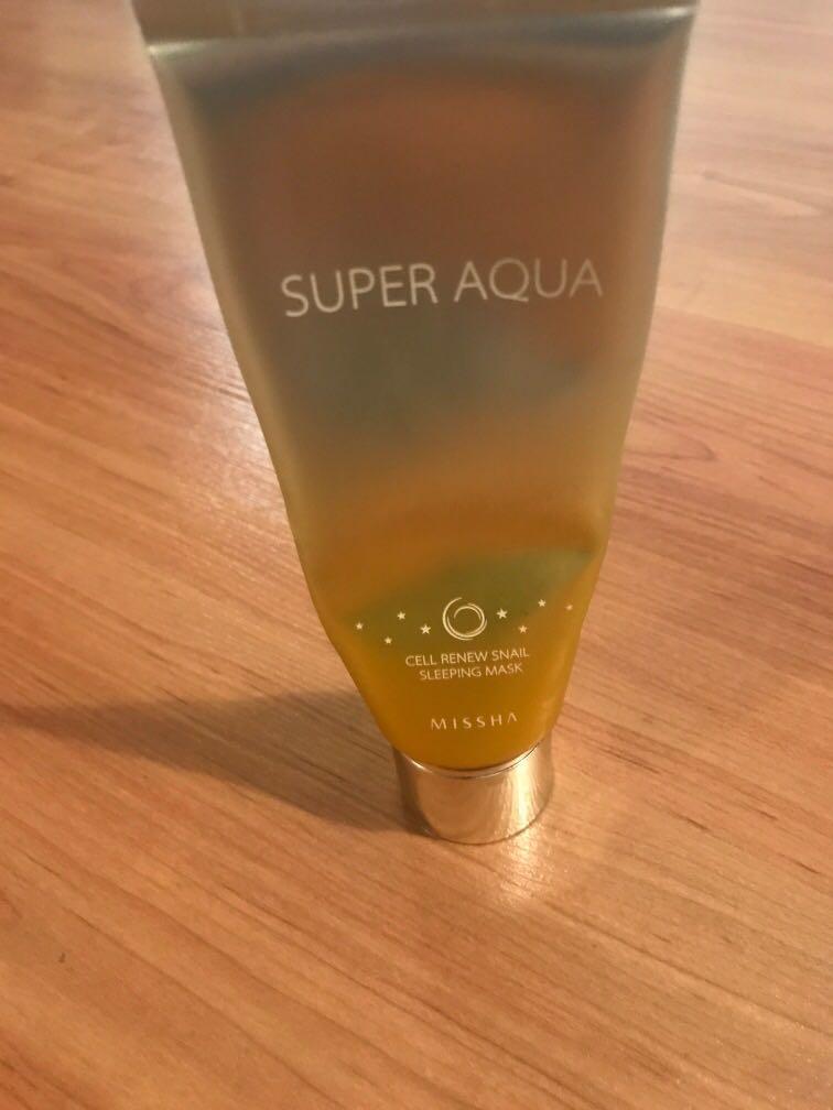 Missha super aqua mask