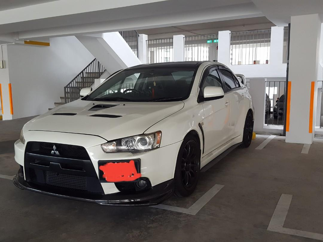 Mitsubishi Lancer Evolution X SST MIVEC Turbo GSR - Premium Package Auto