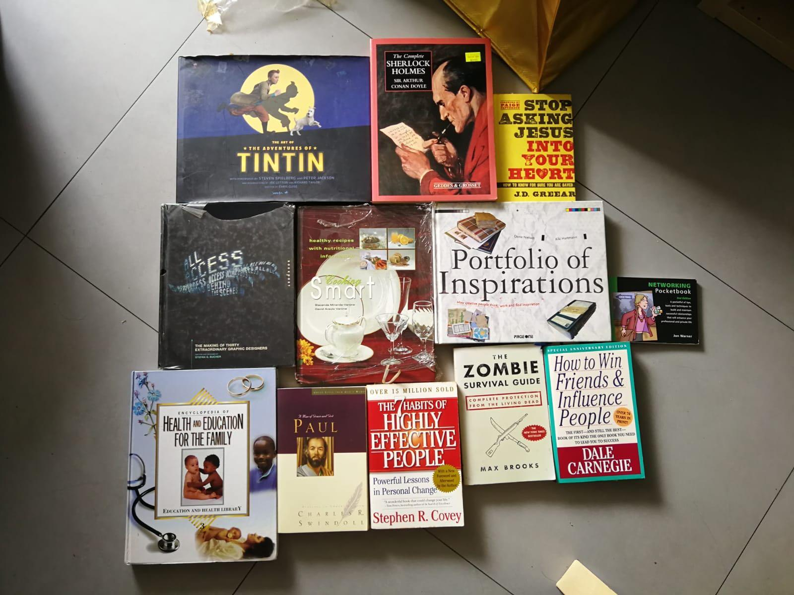 Mixed of New and Preloved Assorted Books