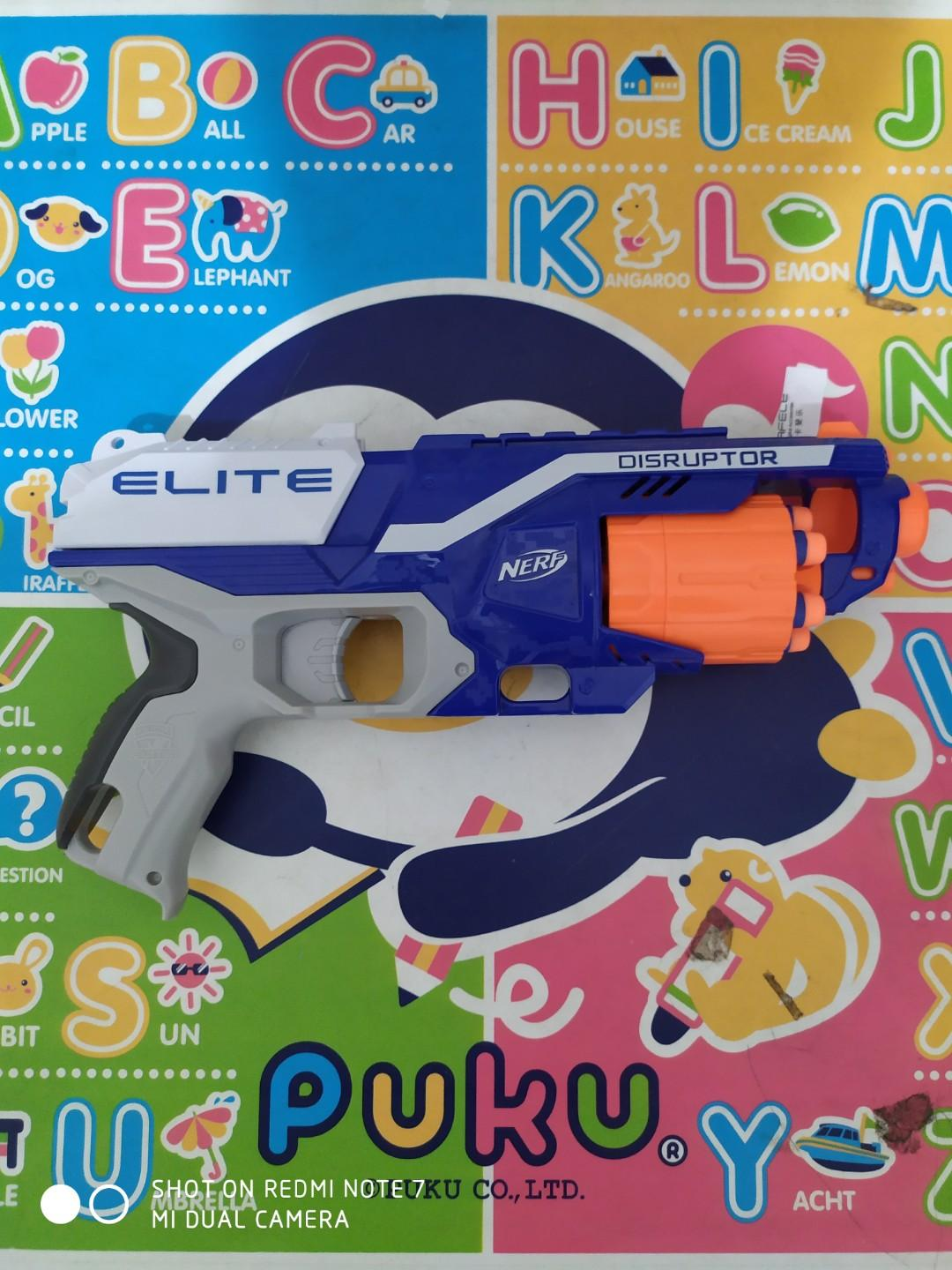 Nerf Elite Disrubtor