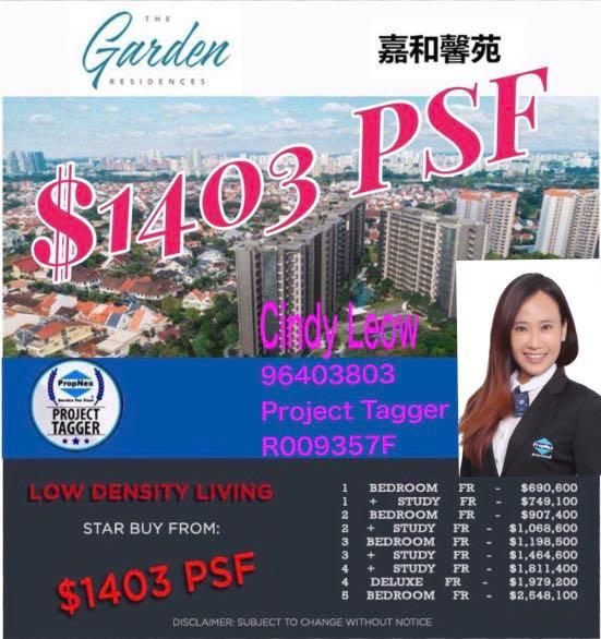 New Project The Garden Residences for Sale!