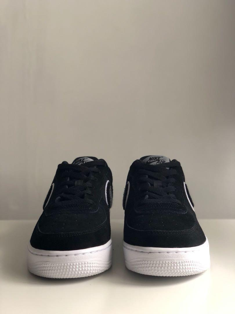 on sale 513f6 a3dc4 Nike Air Force 1 '07 LV8 Chenille Swoosh, Women's Fashion ...