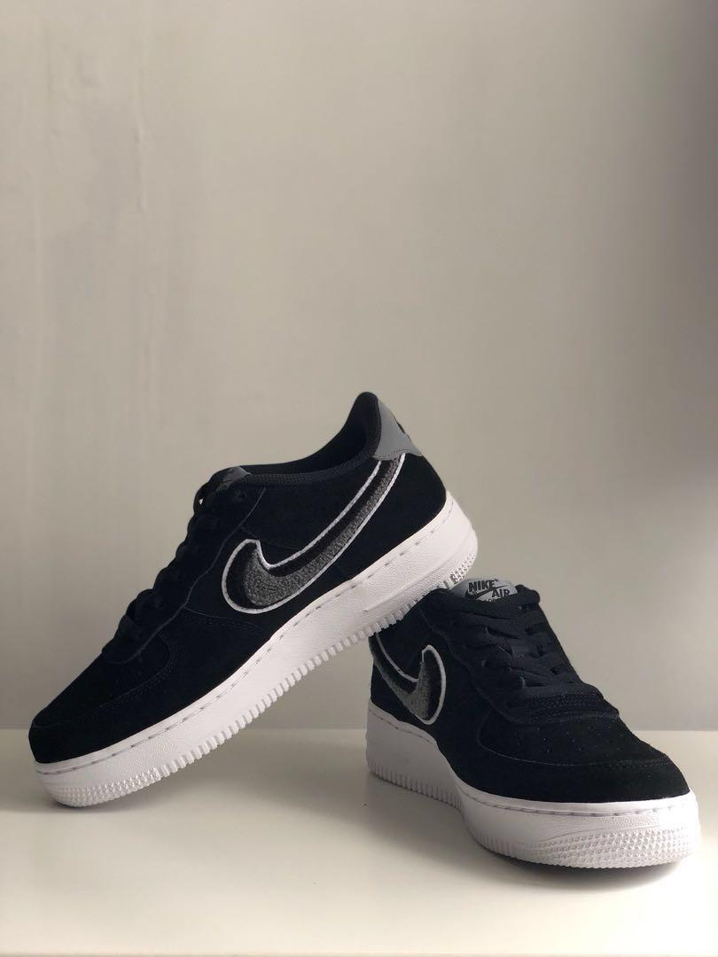 on sale d75d7 fc351 Nike Air Force 1 '07 LV8 Chenille Swoosh, Women's Fashion ...