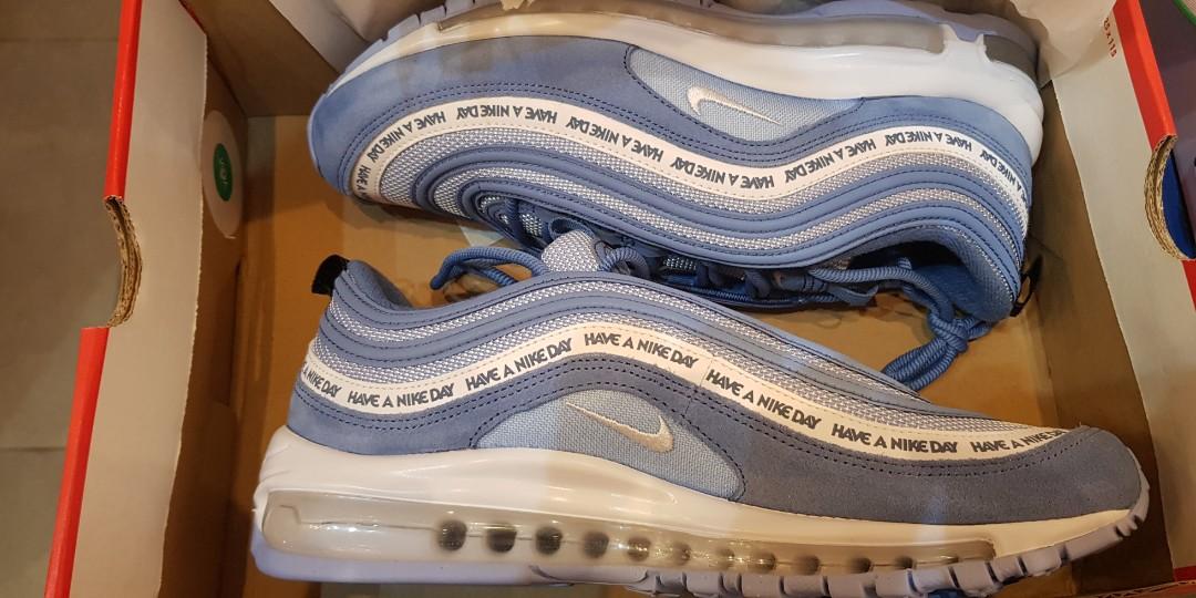 Nike Air Max 97 Ultra Men Shoes Black , White Line's visit