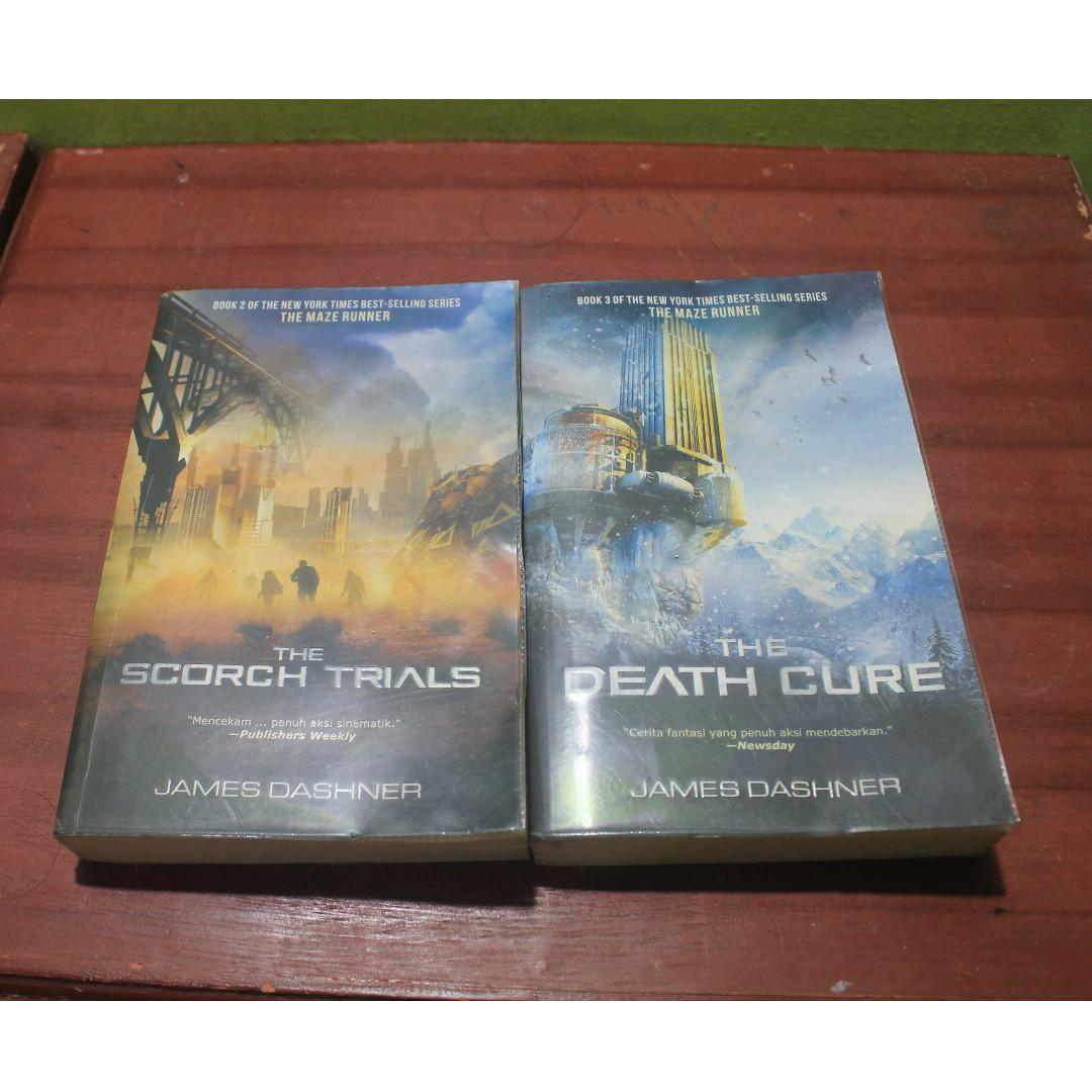 Novel The Scorch Trials & The Death Cure (ORIGINAL 100%)