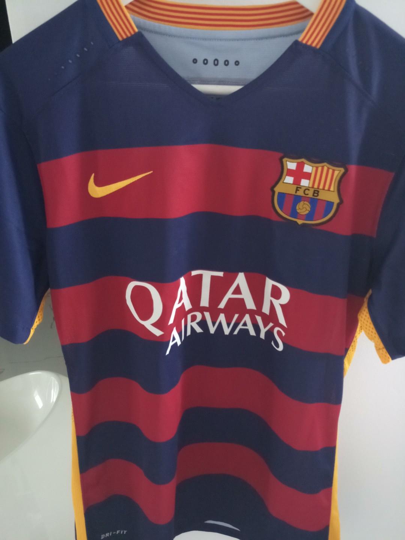 99beabf2492 Original FC Barcelona 2015 2016 Jersey (Home)