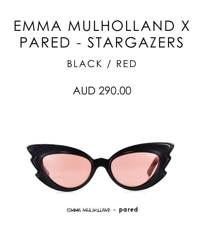 Pared x Emma Mulholland - STARGAZERS - Bought for $290 - Never worn (sad to let these go - only selling bc I'm a student) - Comes with case and cloth