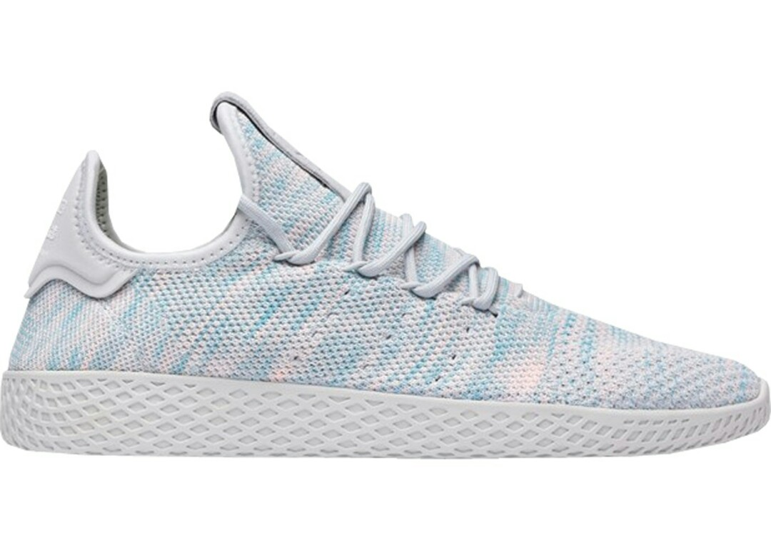 new product 5610f 4ce4e Pharrell Williams Hu Tennis Light Blue