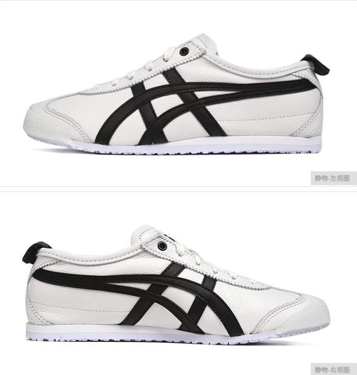 new product c1db8 dd020 Onitsuka Tiger Mexico 66 Unisex White Black Shoes D508K-0190 ...