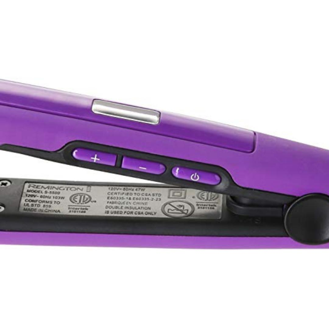 Remington Digital Anti Static Ceramic 1'' Hair Flat Iron Straightener