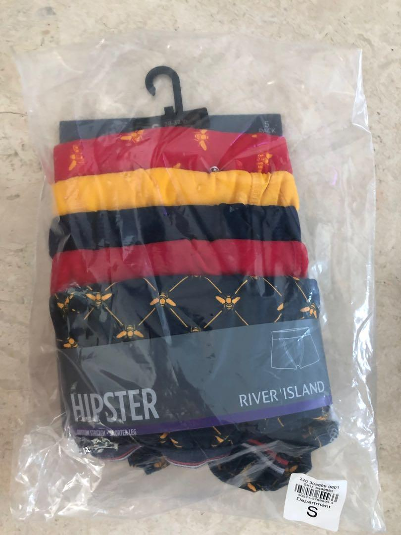 River Island hipsters with tiger print 5 pack