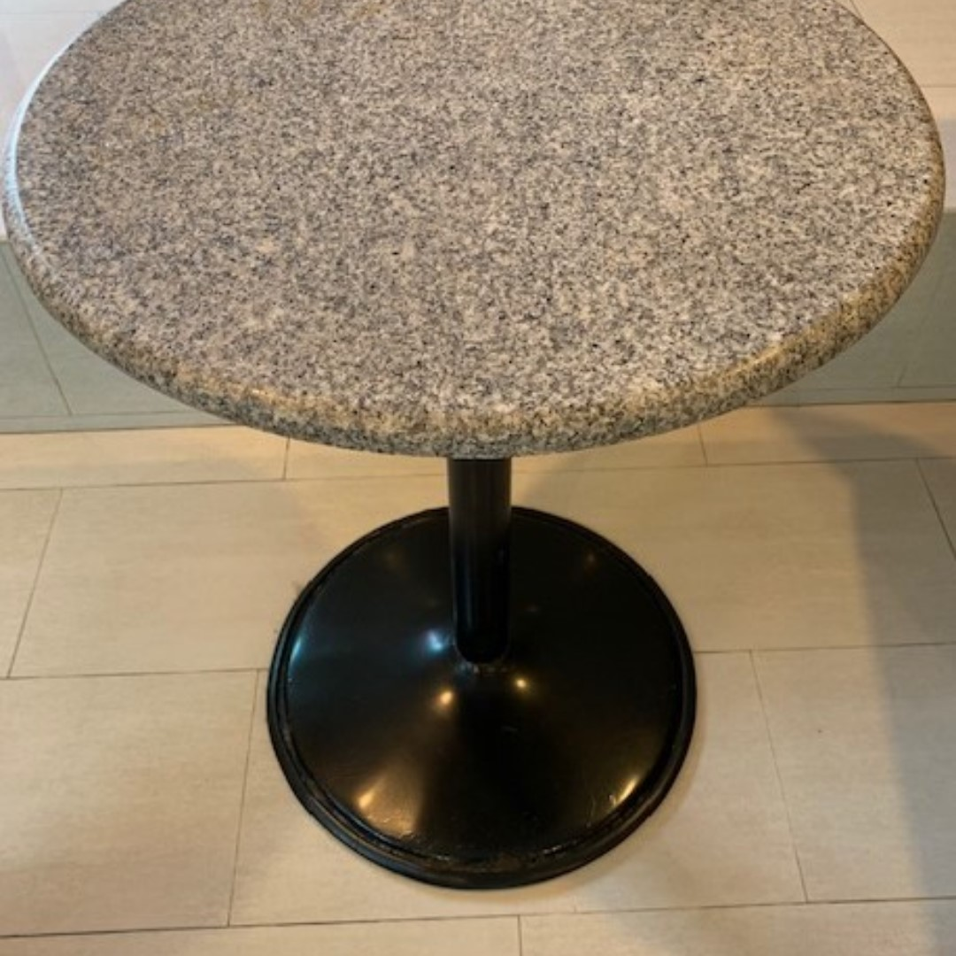 Circle Coffee Table With Seats.Round Granite Coffee Table