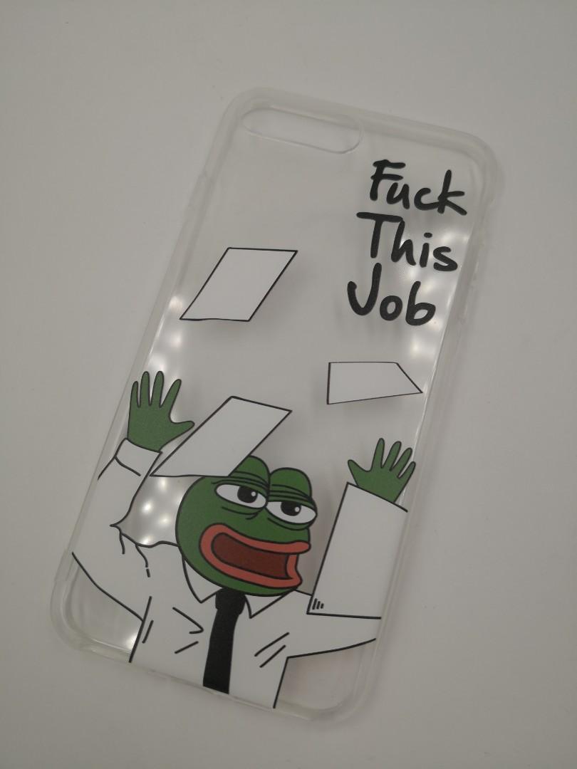 Pepe forg iphone case sad frog 電話殼手機殼iphoneX iphone Xs iphone XS Max iphone Max iphone 8 iphone 7 iphone7pluse iphone 8plus iphone XR悲傷青蛙惡搞整蠱whatsapp大眼青蛙禮物(大量可批發)