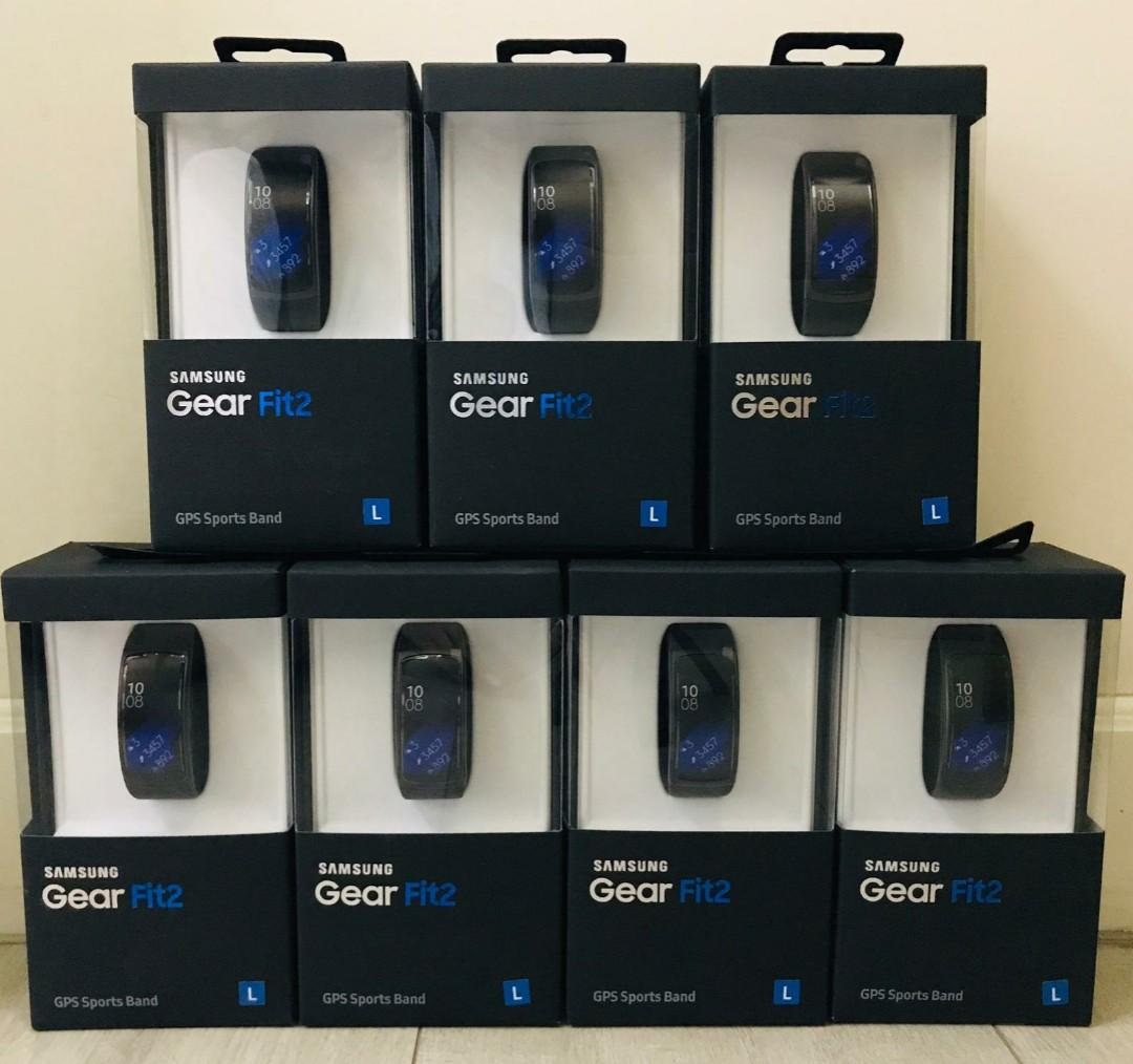 三星Samsung Gear Fit 2 藍牙智慧運動手環
