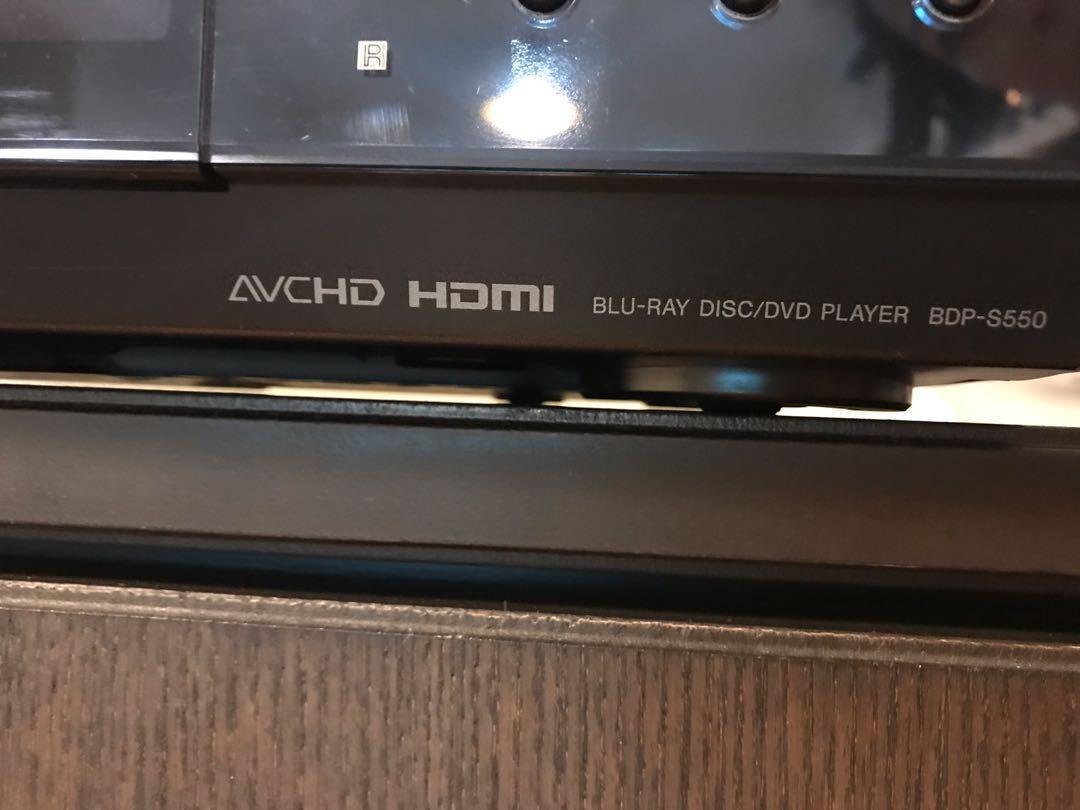 Sony Blueray Disc Player