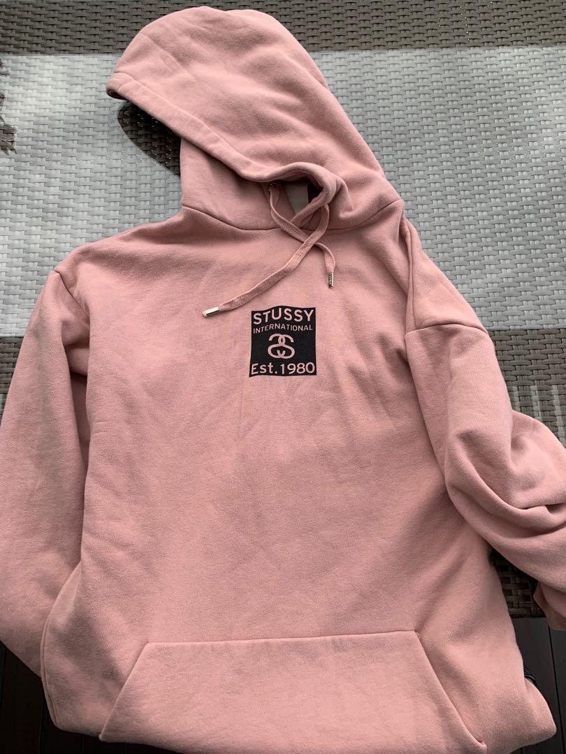 93ee23b204 Stussy Light Pink hoodie