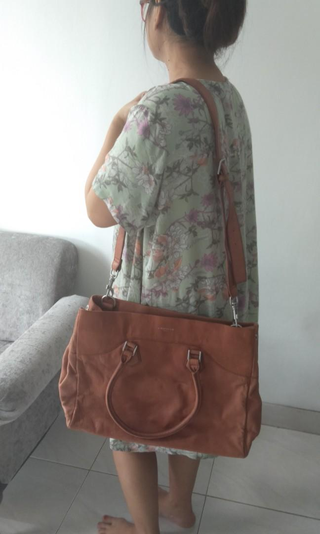 Tas kulit asli preloved