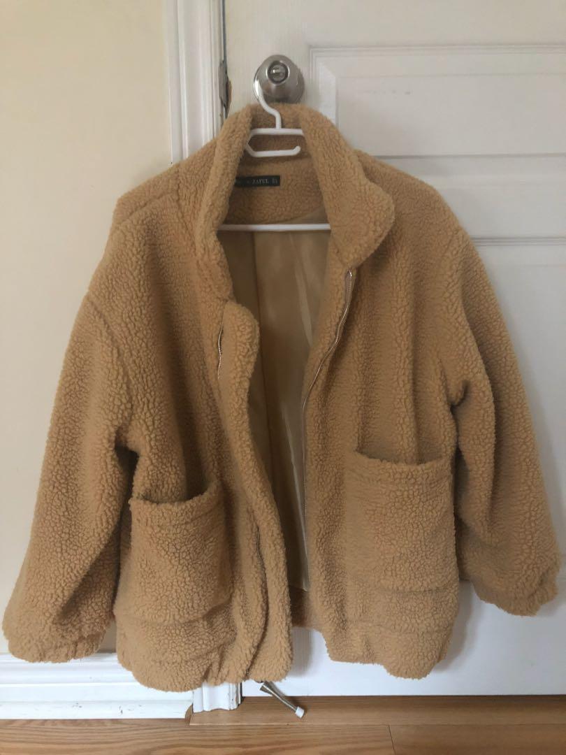 Teddy Bear Fuzzy Jacket