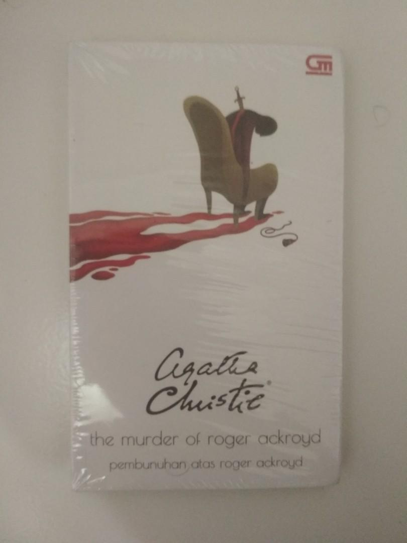 The Murder of Roger Ackroyd (Pembunuhan atas Roger Ackyord) - Agatha Christie