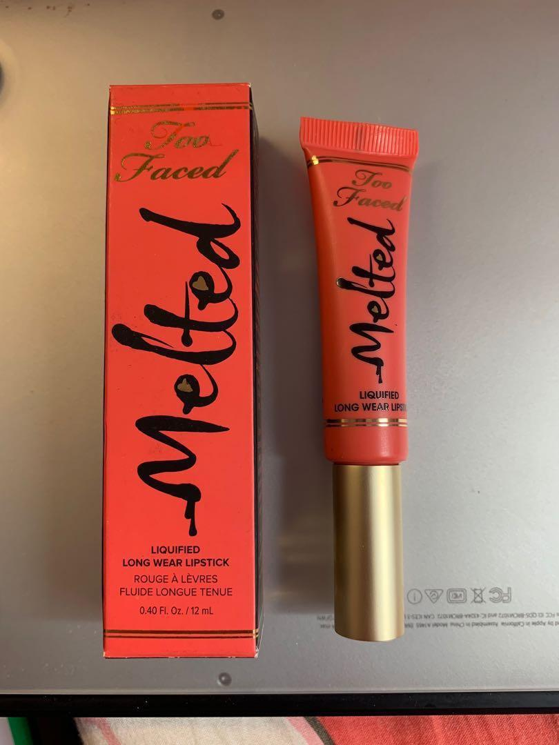 Toofaced melted lipgloss