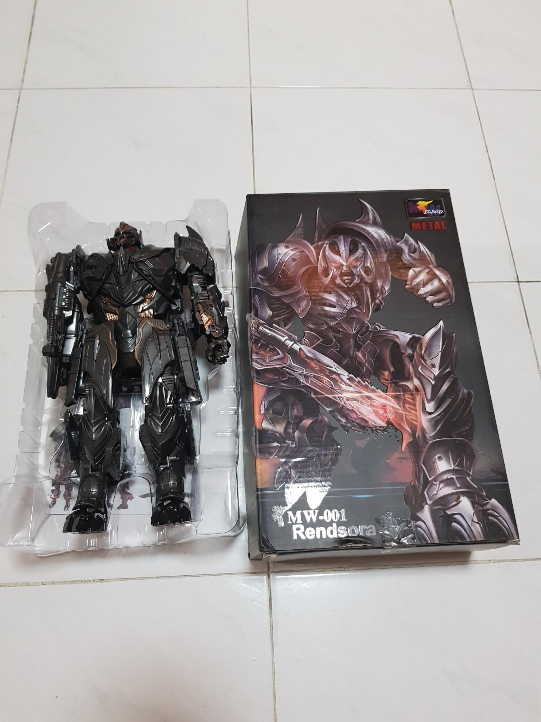 TRANSFORMERS Wizard MW-001 Rendsora Megatron  Action Figure The Last Knight