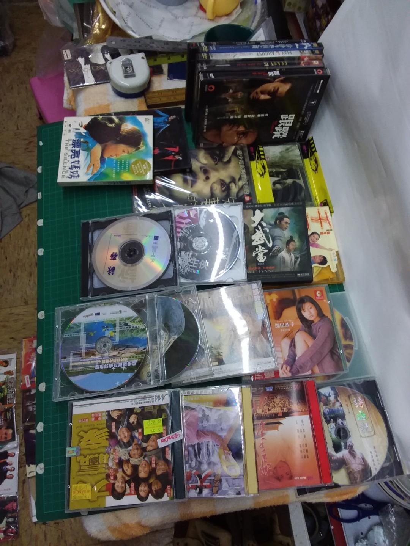 一堆vcd DVD