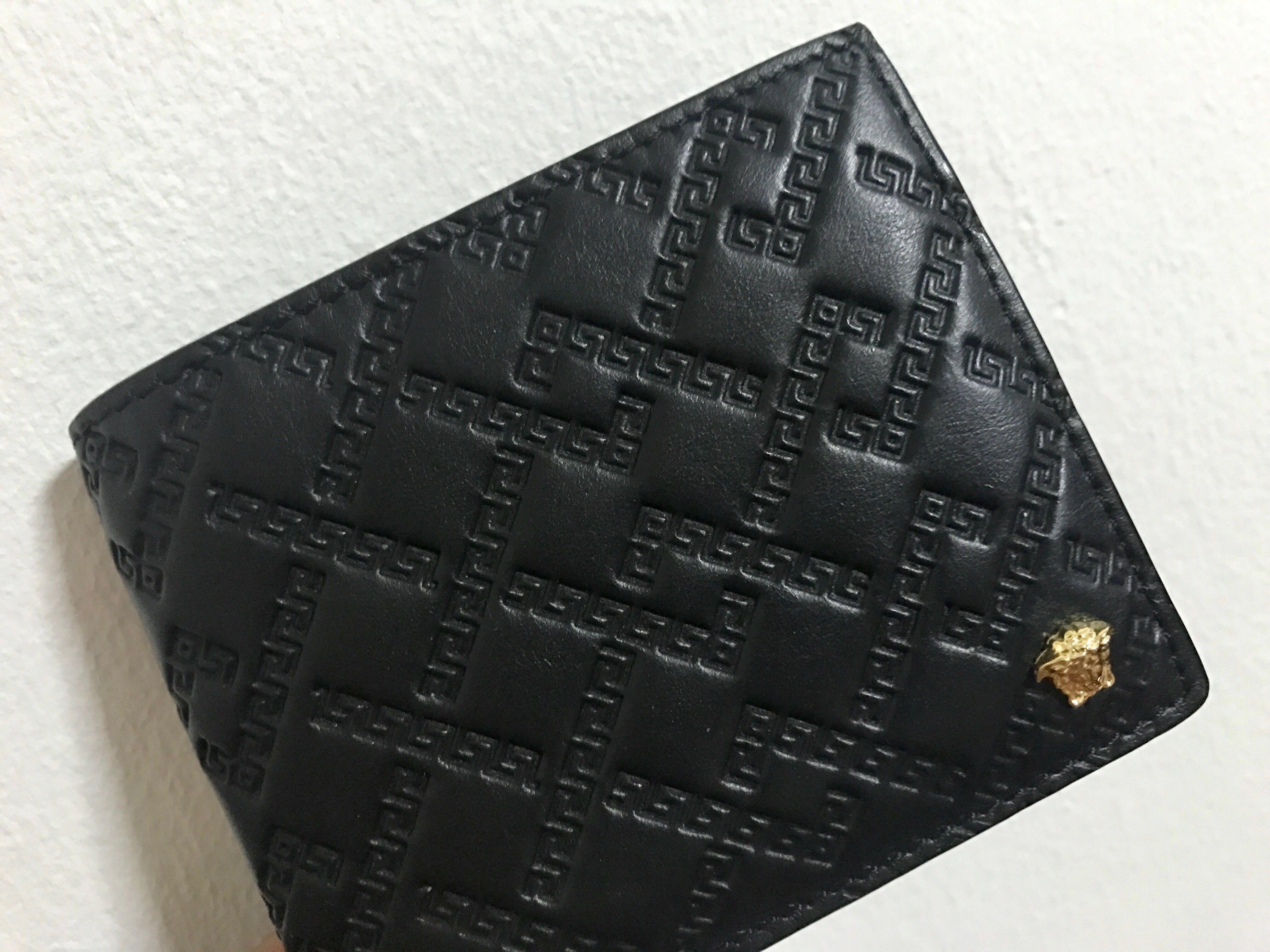 1f3b1544c5a Versace Greca Argyle Medusa Wallet, Luxury, Bags & Wallets, Wallets ...