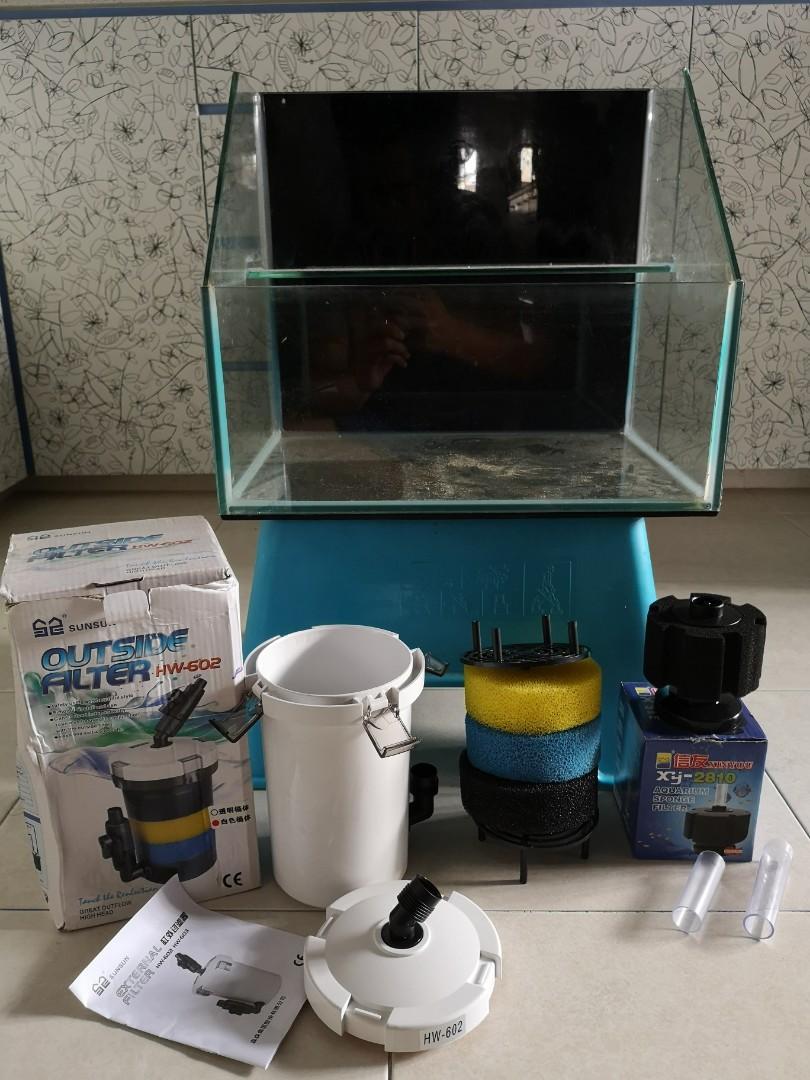 Vivarium tank + accessories