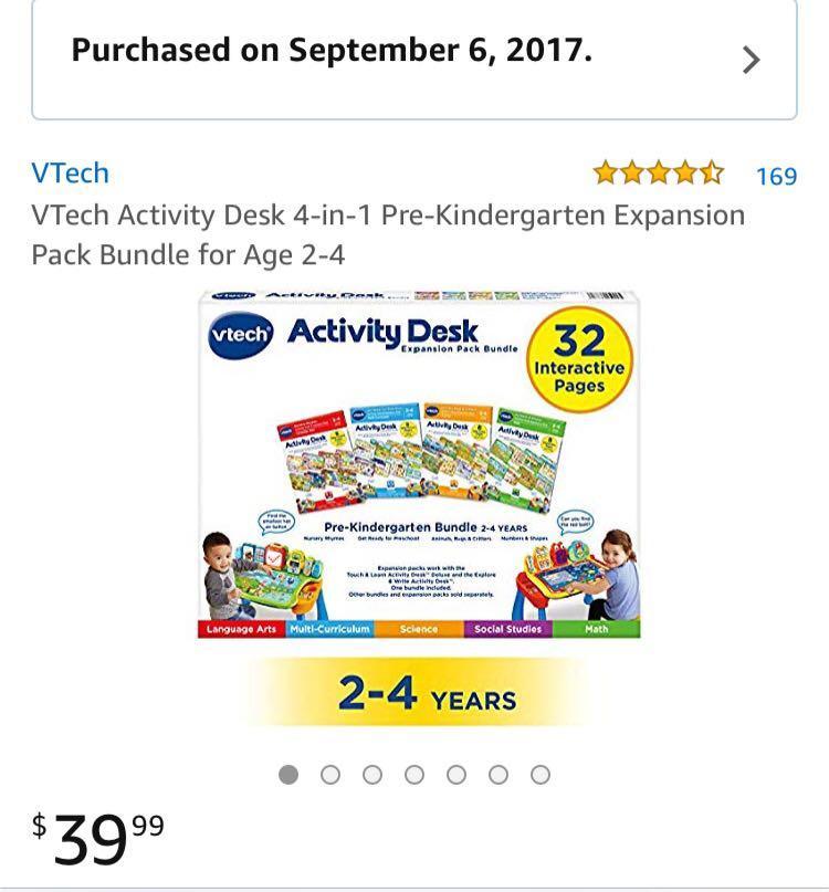 Vtech Activity Desk 4 in 1