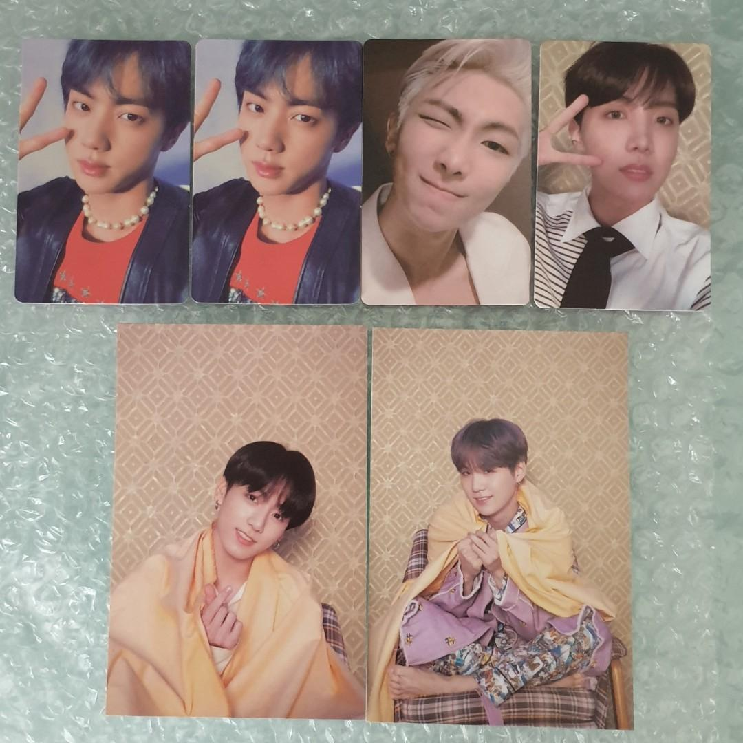 WTS BTS Persona photocard and postcard