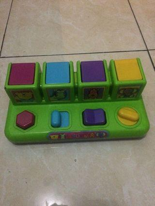 Pop and up toys