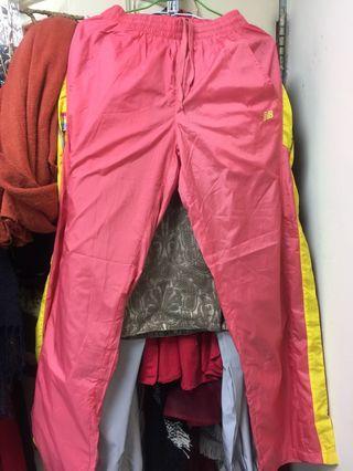 🚚 New balance 粉色運動風褲