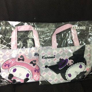 5賞 Kuromi +Melody 雙面迷你手提袋 特價$50