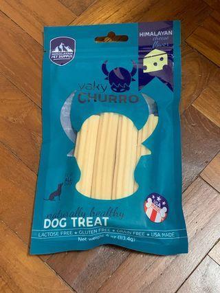 Himalayan yak chew cheese flavor dog treat