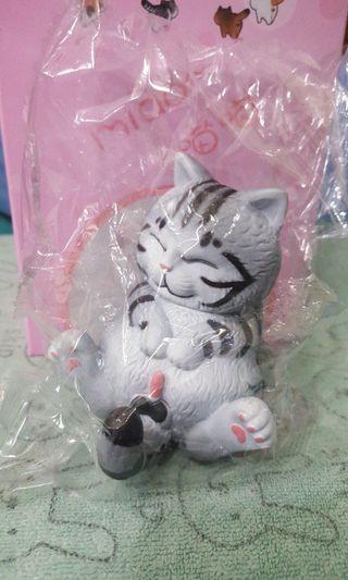 貓鈴鐺公仔,美短貓