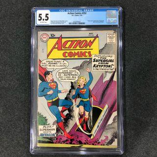 Action Comics 252 ( 1st Supergirl )