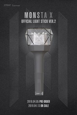 MONSTA X OFFICIAL LIGHTSTICK (ver.2)