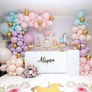 """10"""" Pastel / macaroon balloons"""