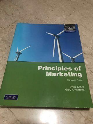 Principles Of Marketing Textbook