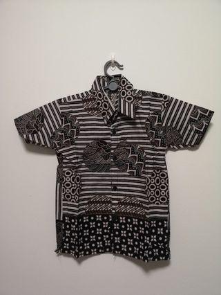 Boys Original Sumatra Batik shirt
