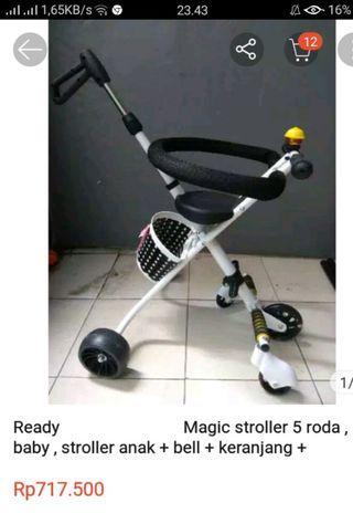 Magic stroller roda 5