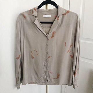 Oak + Fort blouse Size S
