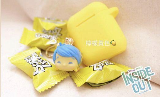🚚 airpods保護套 檸檬黃色